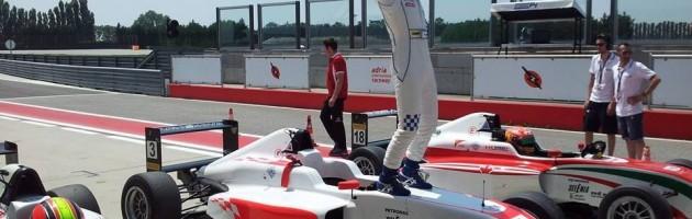 スポット参戦のItalian F4 Race 2で優勝!